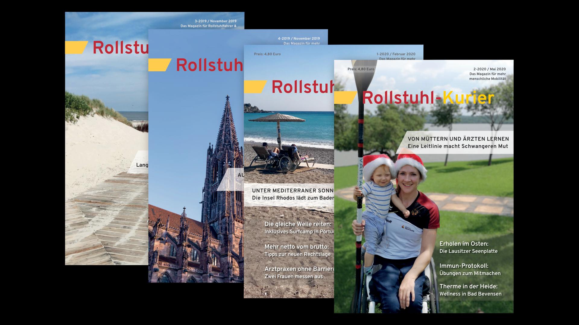Fotos der Zeitschrift Rollstuhl-Kurier